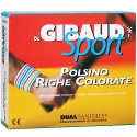 Dr. Gibaud Sport polsino righe colorate 8cm tg.03