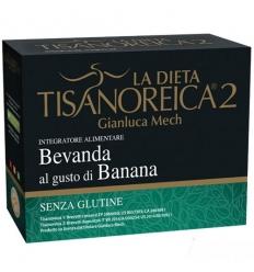 Tisanoreica Bevanda 4 buste Banana
