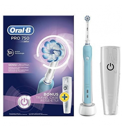 Oral B spazzolino elettrico PRO 750 SENSI UltraThin