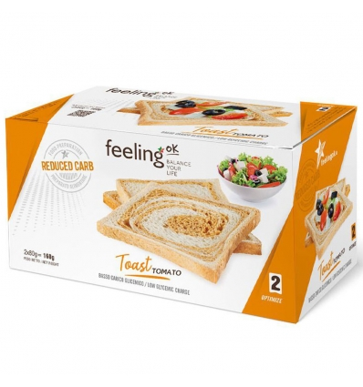 Feeling OK optimize toast tomato 2x80g