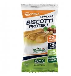WHYNATURE biscotti proteici 30g nocciola