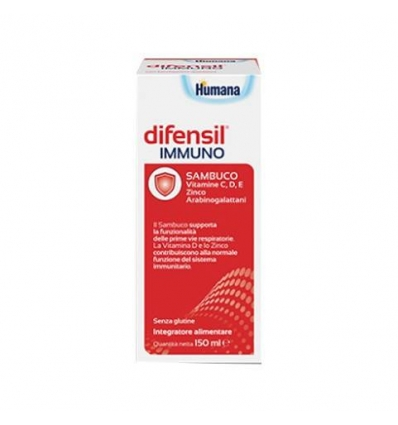 Humana Difensil immuno 150ml
