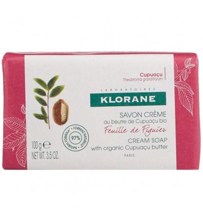 Klorane crema sapone figuier 100g