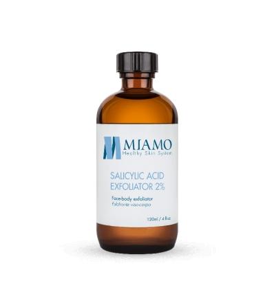 MIAMO acnever salicylic acid exfoliator 2% 120ml
