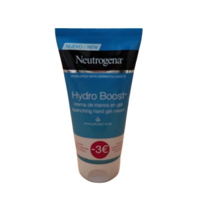 Neutrogena Hydro Boost crema mani gel 75ml